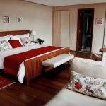 Cama Doble Hotel El Faro Villa La Angostura Neuquen