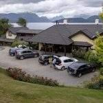 Estacionamiento posada hosteria spa villa angostura