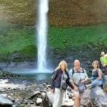 Cascada pilon villa langostura argentina don angostura