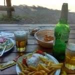 Comida lago chico villa langostura argentina espejo angostura
