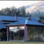 Exterior hosteria villa langostura argentina angostura