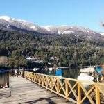 Lago arroyo villa langostura argentina del angostura