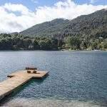 Lago puertosur villa langostura argentina angostura