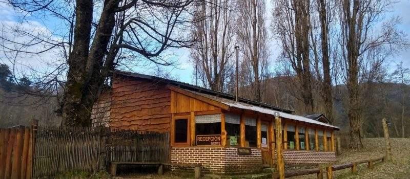 Camping Lago Espejo Chico en Villa la Angostura Neuquén Argentina