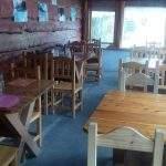 Restaurant lago chico villa langostura argentina espejo angostura